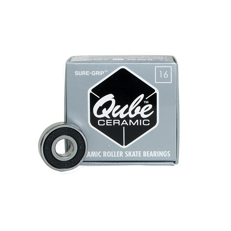 Skate Bearings QUBE 8-Ball (Platinum)